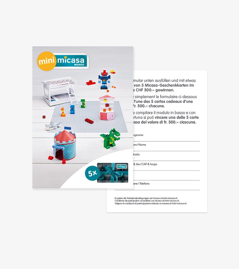 Mini Micasa Möbel Entwickelt Agentur Für Kommunikation Marketing