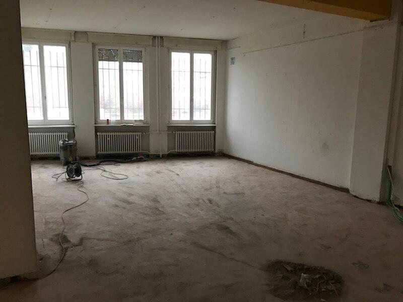 Raum für Workshops während Umbau 2