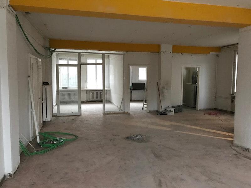 Raum für Workshops während Umbau 1