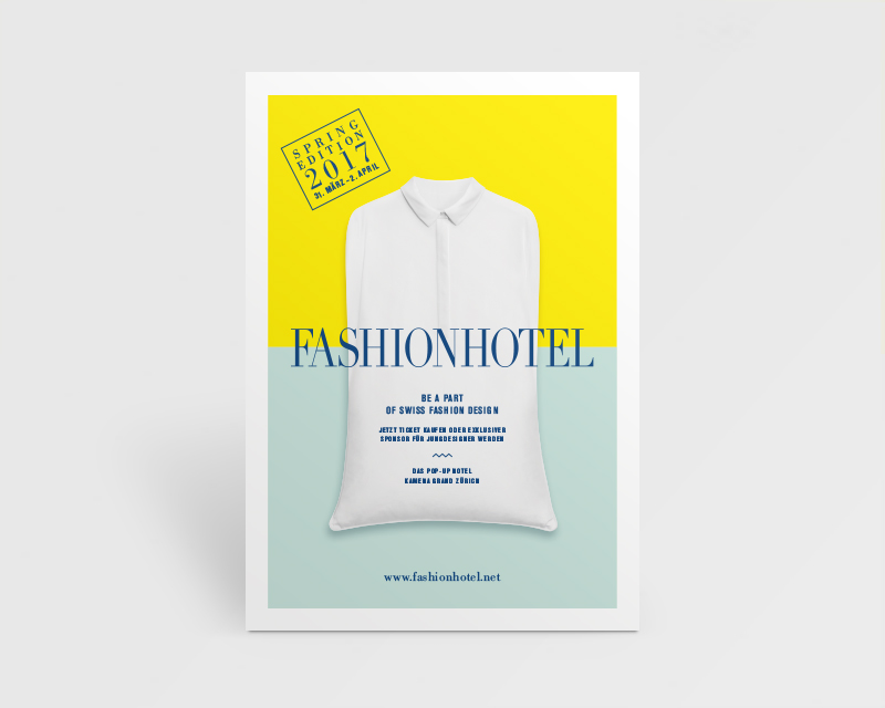 Eventreihe Fashionhotel, Flyer 2017