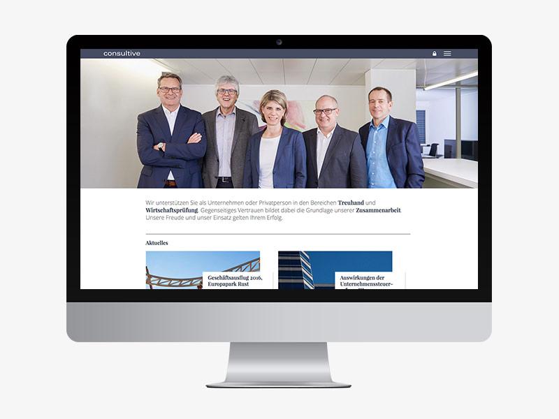 Consultive Contentkonzept Website