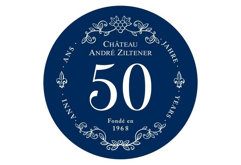 Jubiläum Jubiläumssignet Château André Ziltener