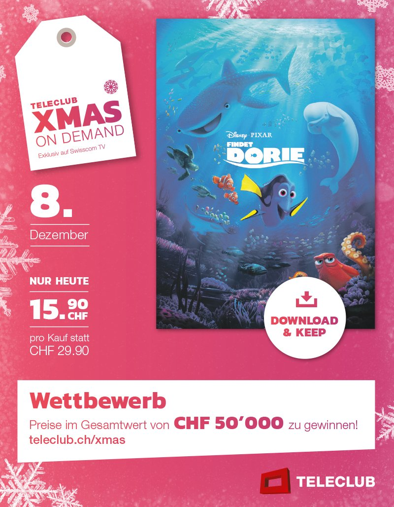 Teleclub XMAS ON DEMAND-Kampagne