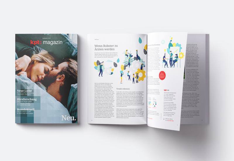 KPT Kundenmagazin, Ausgabe 1
