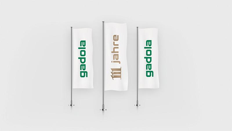 Gesamtauftritt zur Markenauffrischung der Gadola Unternehmen