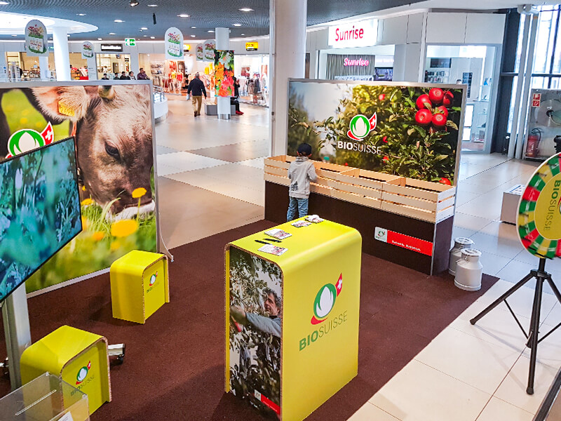 Bio Suisse Mall Promotion 2019