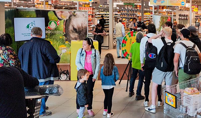 Bio Suisse Mall Promotion 2019