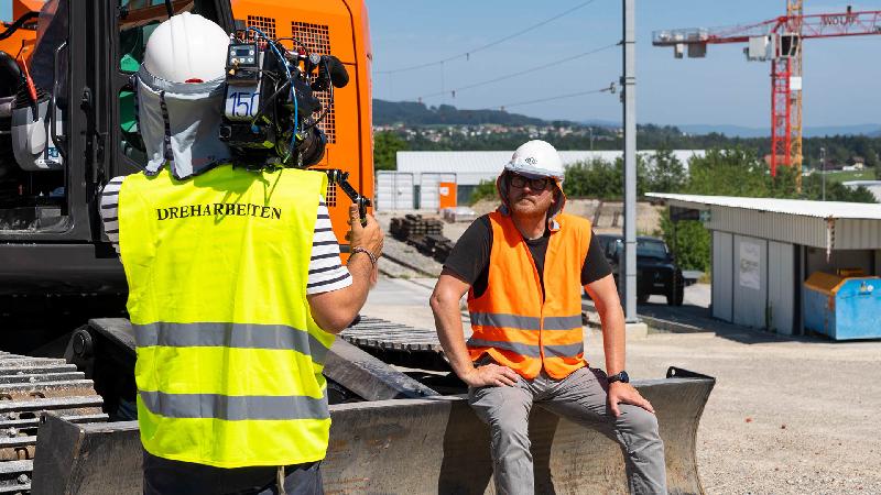 Videoserie für Suva-Branchenthema «Sichere Baustelle»