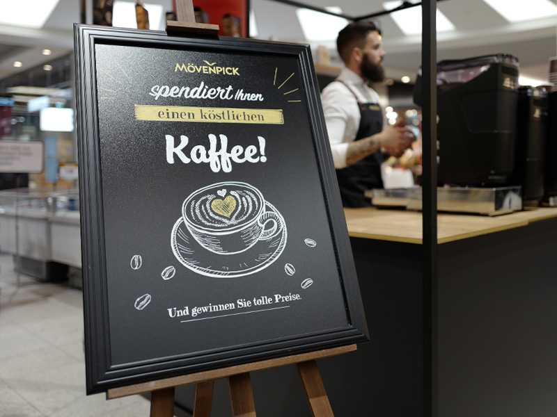Roadshow Mövenpick KAffee