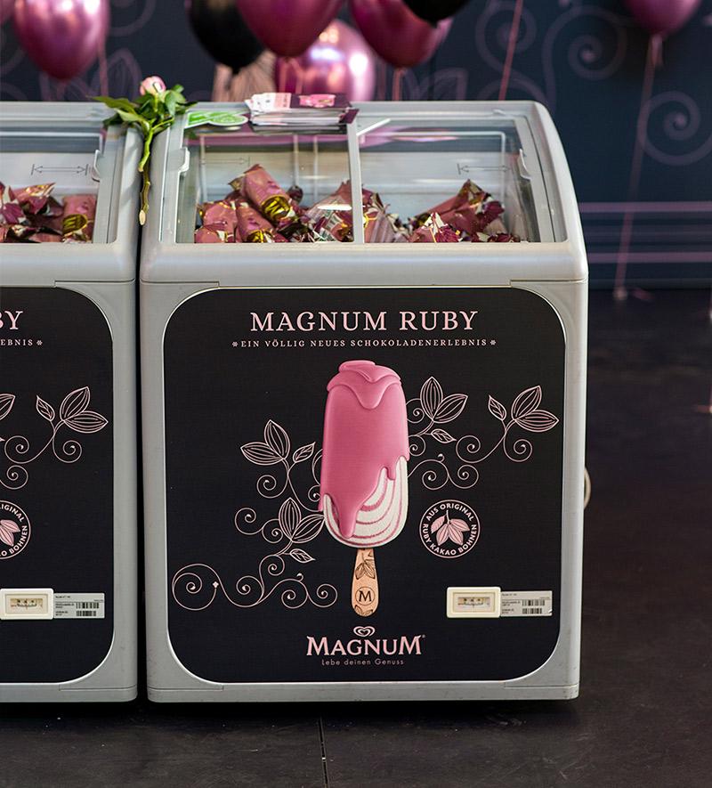 Produkteinführung Magnum Ruby