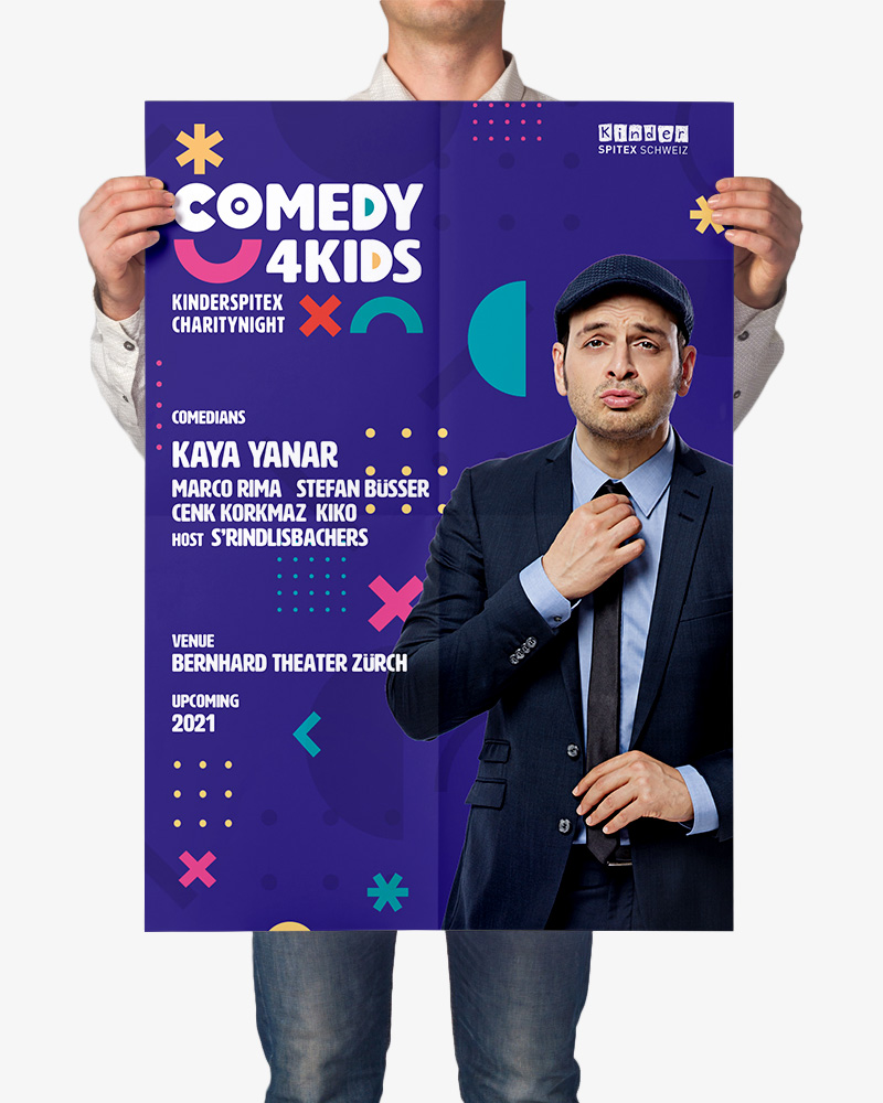 Marketingpartner der Eventreihe Comedy4Kids