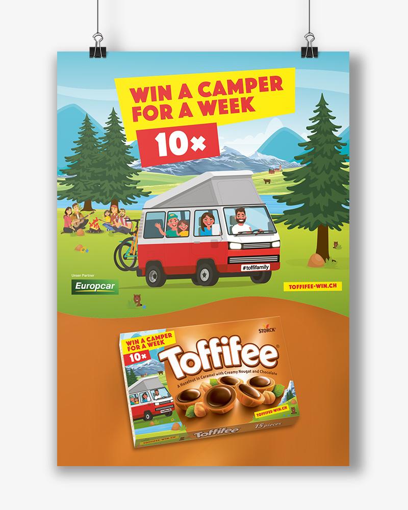 Toffifee POS-Promotion