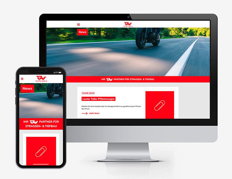 Neue Webseite für die Toller & Loher AG