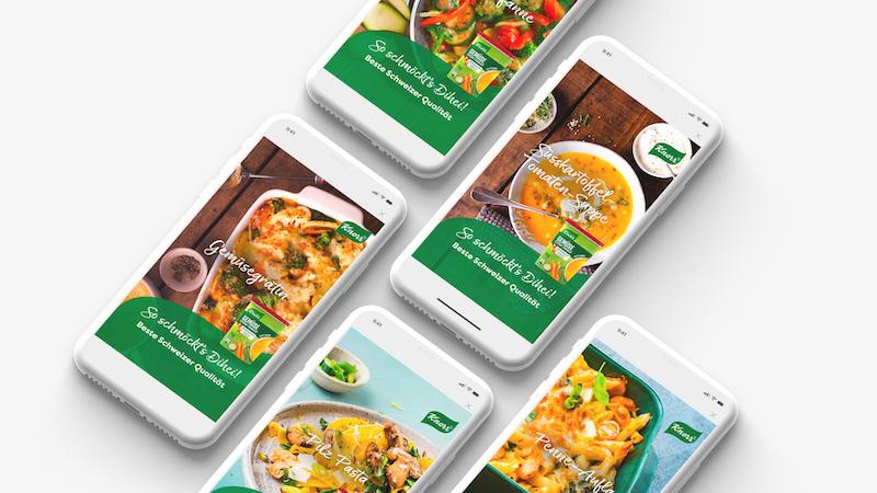 Gesamtkampagne für Knorr Bouillon