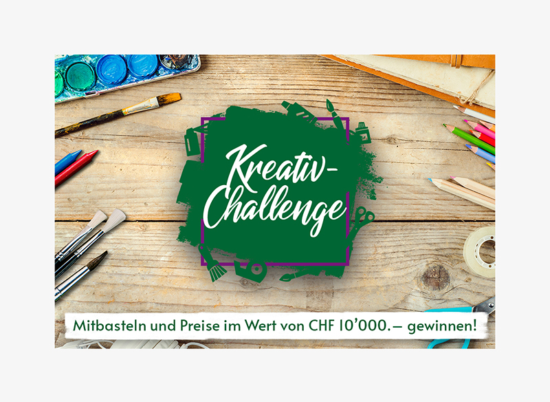 Kreativ-Kampagne für Do it + Garden Migros