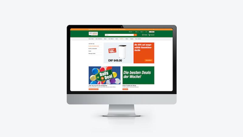 Neues Online-Format für Do it + Garden Migros